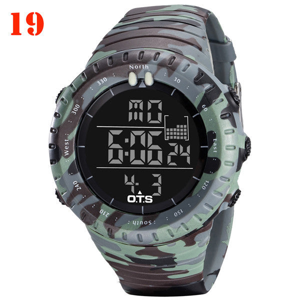 Waterproof Sports Watch - Eazideal Jewelry Galore