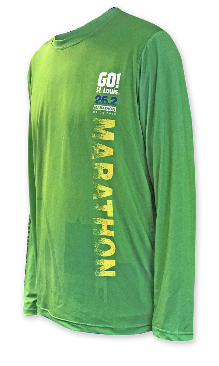 Men's 2018 Full Marathon Event Shirt