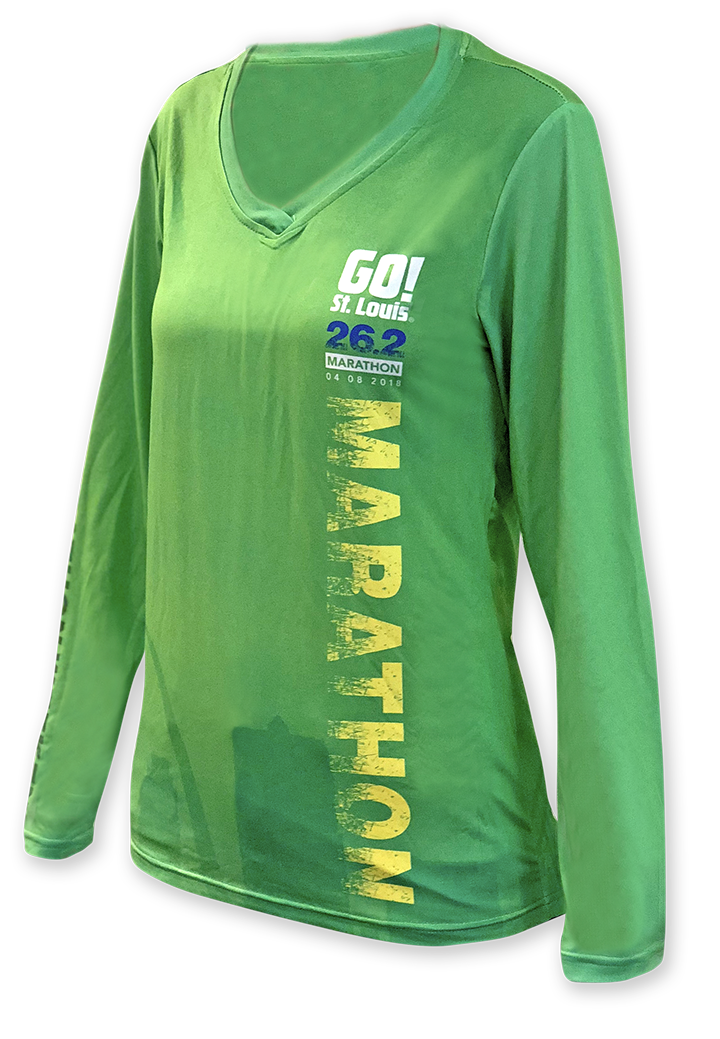 Women's 2018 Full Marathon Event Shirt