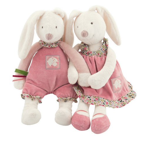 Baby Play Soft Plush Toys High Quality Lovely Rabbit Appease Doll Baby Dolls Hold Muppet Toys 32cm