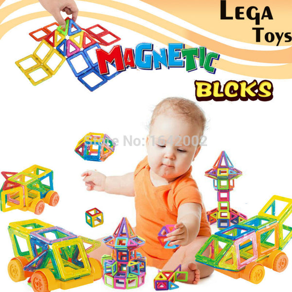 32PCS Mini Magnetic Designer Construction set Enlighten Bricks Magnetic Model & building blocks  Educational toys for children