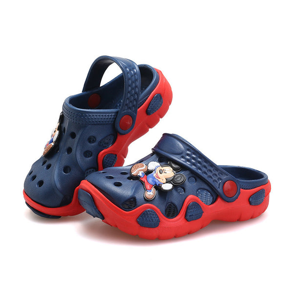 Summer Children Shoes Girls Boys Slippers Cute Cartoon Comfortable Fashion Kids Slippers Anti-Slip Girls Slippers Beach Shoes