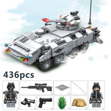 High Quality 635010~12 Military Series Super Weapon Figures Tank Model Building Blocks Set Bricks Kids Children Toys Gift