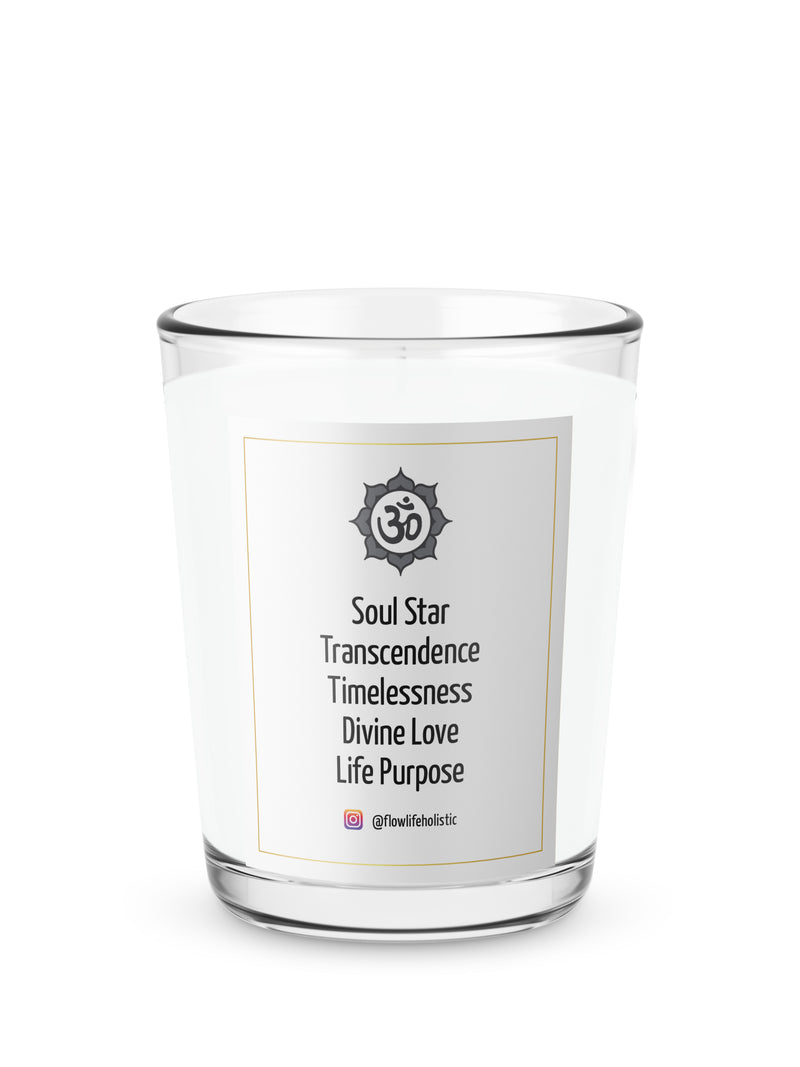 8th Chakra (Soul Star) Energy Votive (2.2 oz) 100% Soy Wax