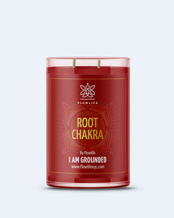 Root Chakra Energy LARGE (9oz) 100% Soy Wax