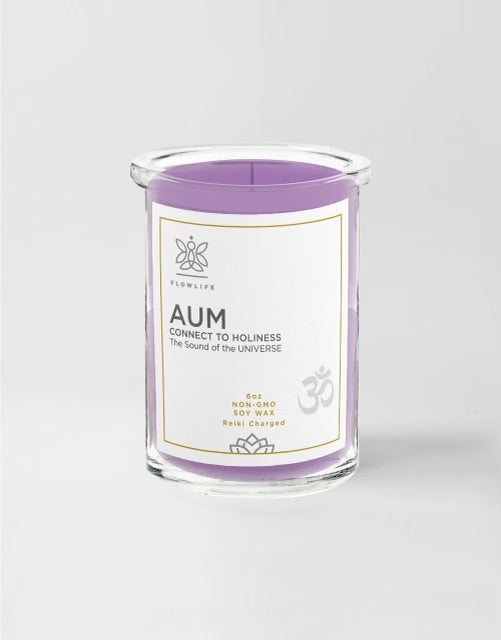 AUM - Connect to Holiness - 6 oz - 100% soy wax