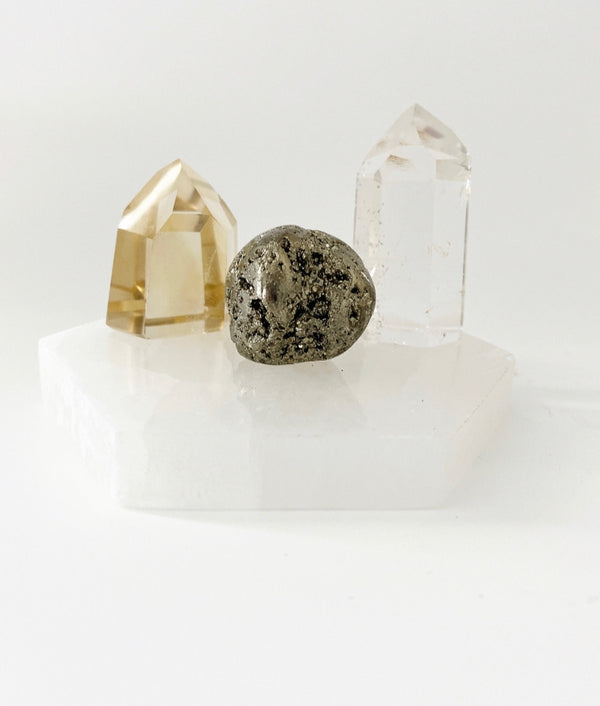 Crystal Trio for the Entrepreneur / SUCCESS Trio
