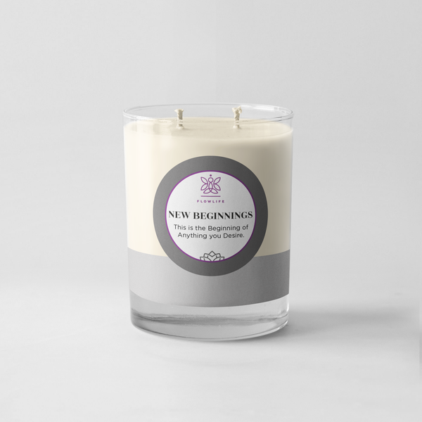 New Beginnings Candle - 8oz 100% soy wax