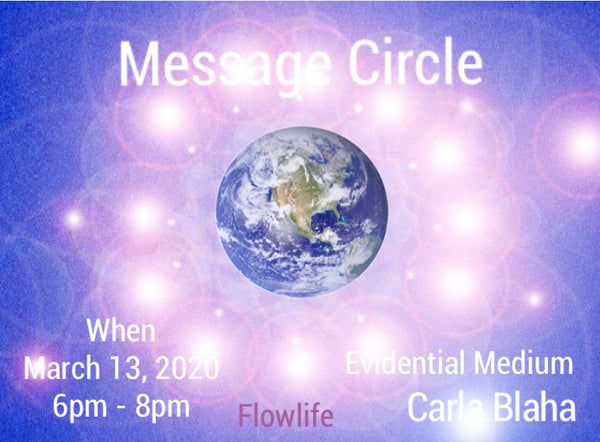 Carla Blaha Group Message Circle - Guest