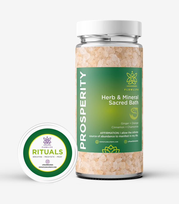 Prosperity - Herb and Mineral Sacred Bath