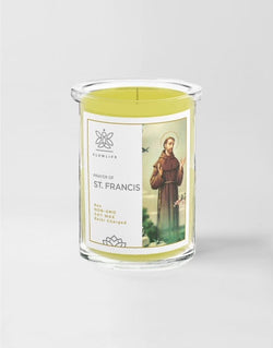 ST. FRANCIS - Lord, Make me and Instrument of your peace - 6 oz - 100% soy wax