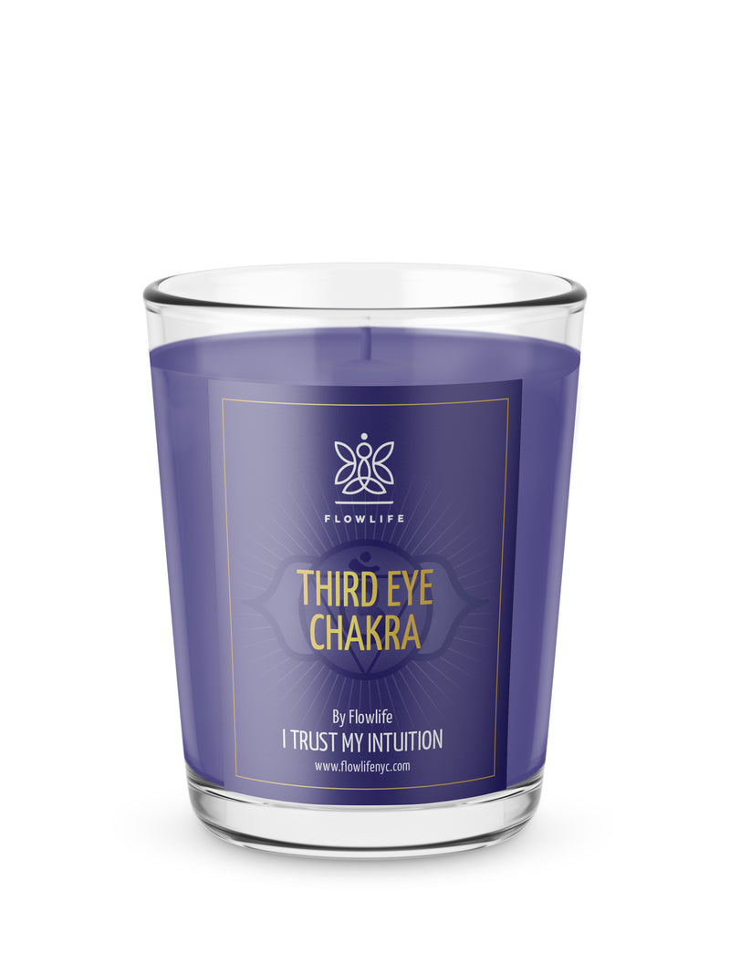 Third Eye Chakra Energy Votive (2.2 oz) 100% Soy Wax