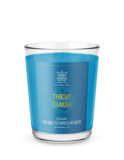 Throat Chakra Energy Votive (2.2 oz) 100% Soy Wax