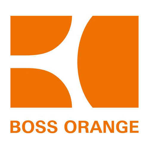 Hugo Boss orange logotyp