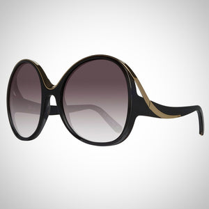 Chloè CE713S 002 Ladies Butterfly Gradient Sunglasses