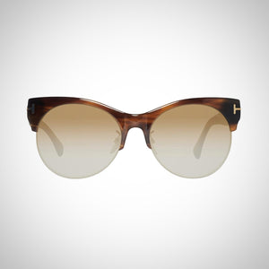 Tom Ford FT9350 45F 57 Ladies Brown Sunglasses