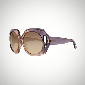 Tom Ford Nana FT0385 20B 59 Ladies Grey Gradient Sunglasses