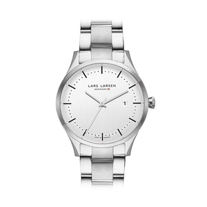 Lars Larsen 119SWSB Men's Stainless Steel Watch