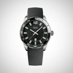 Hugo Boss 1512885 Men's Black Rubber Watch