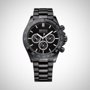 Hugo Boss 1512961 Mens Chronograph Ionic Black Watch