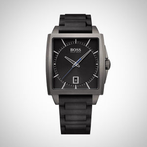 Hugo Boss 1513225 Grey Square Dial Mens Watch