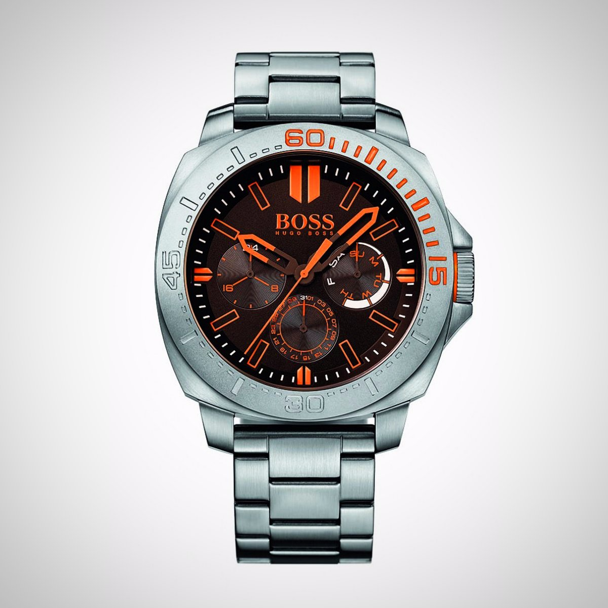 Hugo Boss Orange 1513299 Sao Paulo Mens Stainless Steel Watch