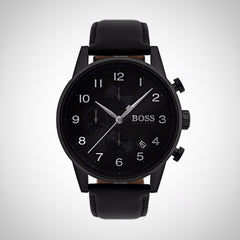 Hugo Boss 1513497 Black Stainless Steel Navigator Men's Watch