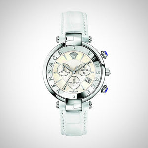 Versace VAJ020016 Ladies Reve White Chronograph Watch