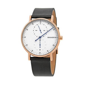 Skagen SKW6390 Mens Signatur Regulator Leather Watch