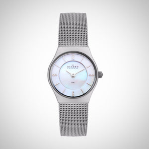Skagen 233XSSS Grenen Refined Ladies' Stainless Steel 25 mm Watch