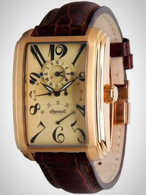 Ingersoll IN2602RCR Men's Automatic Missouri Cream Brown Watch