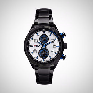 Fila Sports 38-008-003 Men's Chronograph Black PVD / Stainless Steel Quartz Watch
