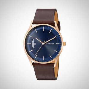 Skagen SKW6395 Holst Men's Leather Watch