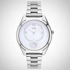 Storm 47296/W Orba White Ladies Stainless Steel Watch