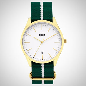 Storm Morley GD-White Unisex Watch - 47299/GD/W