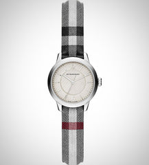 Burberry BU10200 Ladies' Classic Round Leather Watch