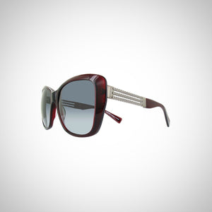 Balmain BL2067-03-56 Ladies Dark Red Sunglasses