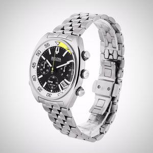 Bulova 96B237 Snorkel Men's Chronograph Stainless Steel Quartz Watch