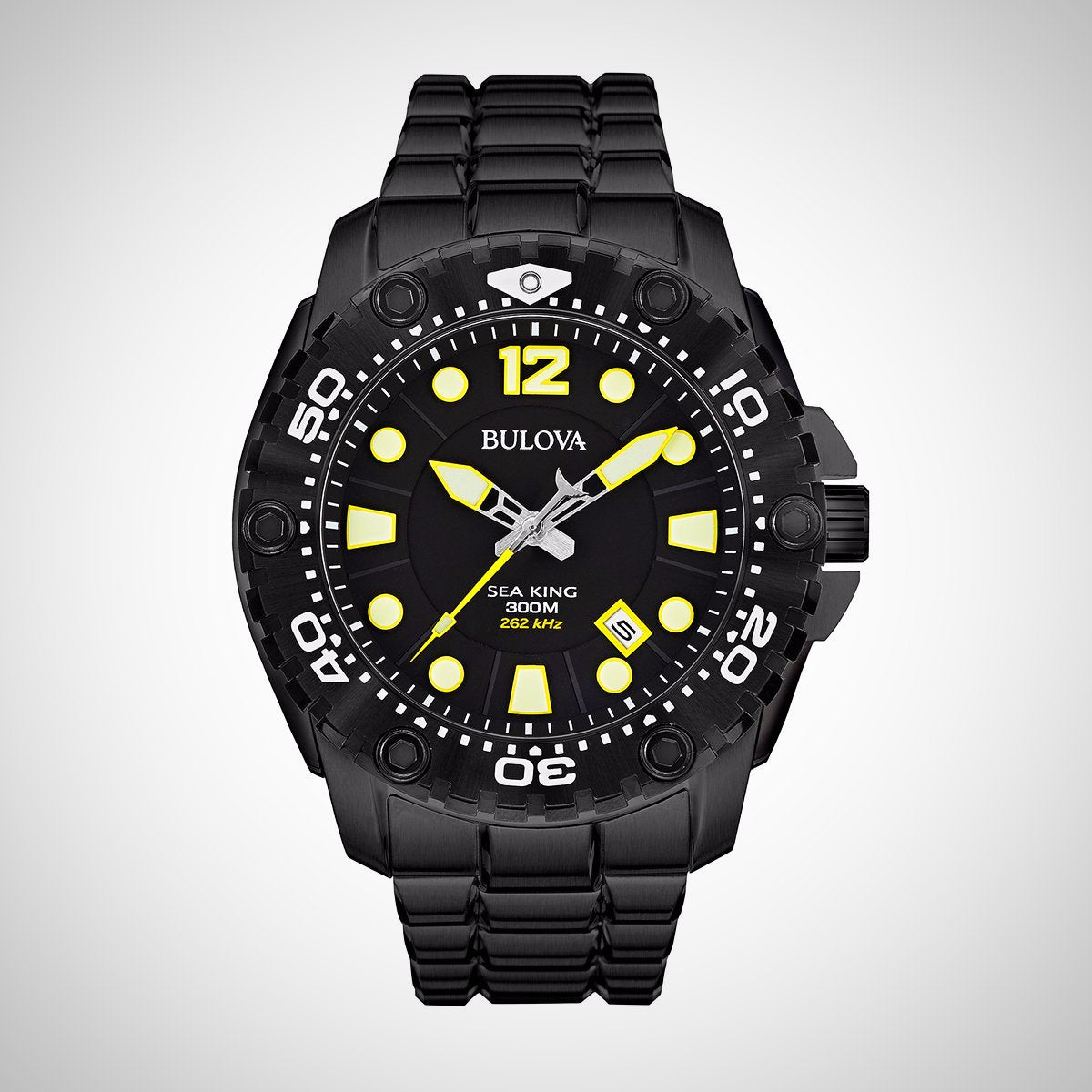 Bulova 98B242 UHF Sea King Men's Black Sports Quartz Watch