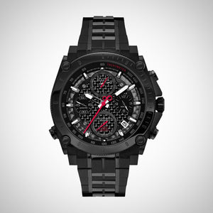Bulova 98B257 Precisionist Men's Black Chronograph Quartz Watch