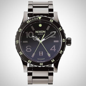 Nixon A277-1885 Men's Diplomat SS Swiss Watch