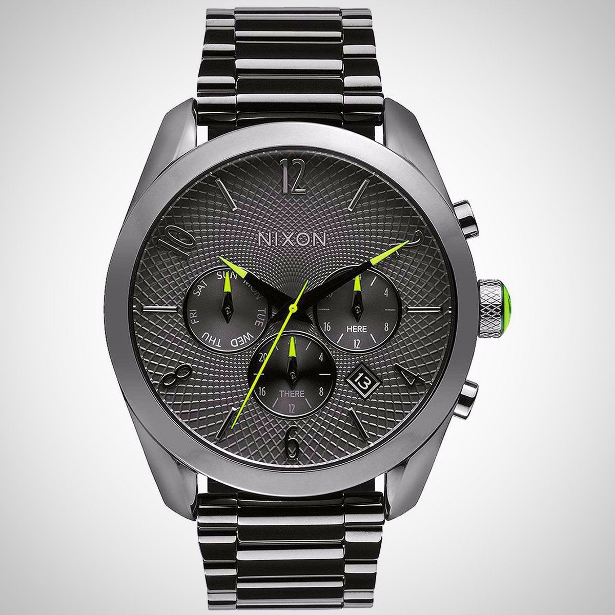 Nixon Bullet Chrono A366-131 Ladies' Black-Ion Plated Watch