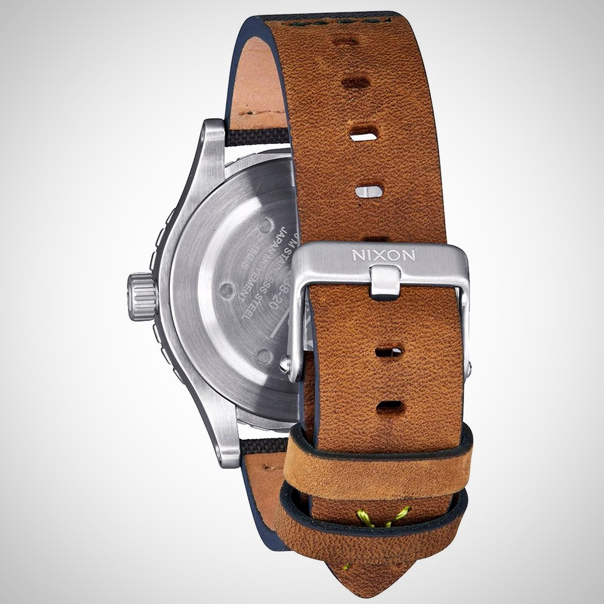 Nixon A467-2232 38-20 Men's Leather Watch