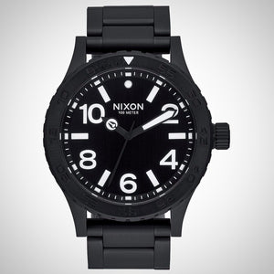 Nixon A916-001 The 46 Men's Black Ion-Plated Watch