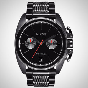 Nixon A930-001 The Anthem Men's Black Swiss Watch