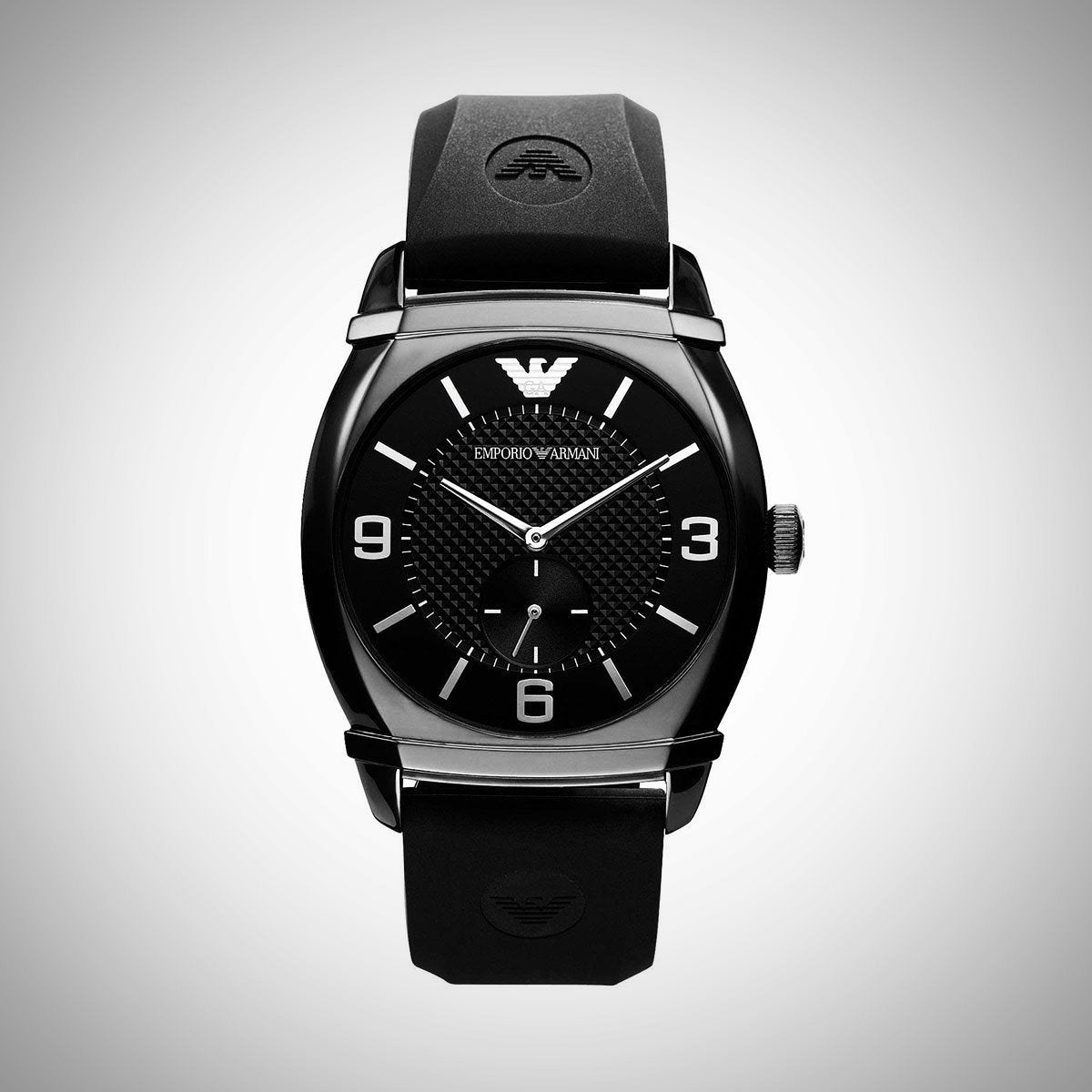 Emporio Armani AR0340 Men's Classic Black Watch