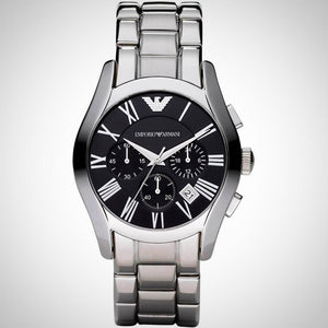 Emporio Armani AR0673 Men's Black Chronograph Watch