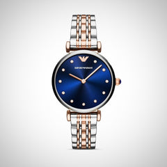 Emporio Armani AR11092 Two-Tone Ladies Watch