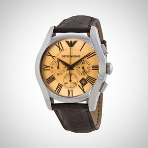 Emporio Armani AR1634 Mens Amber Chronograph Watch