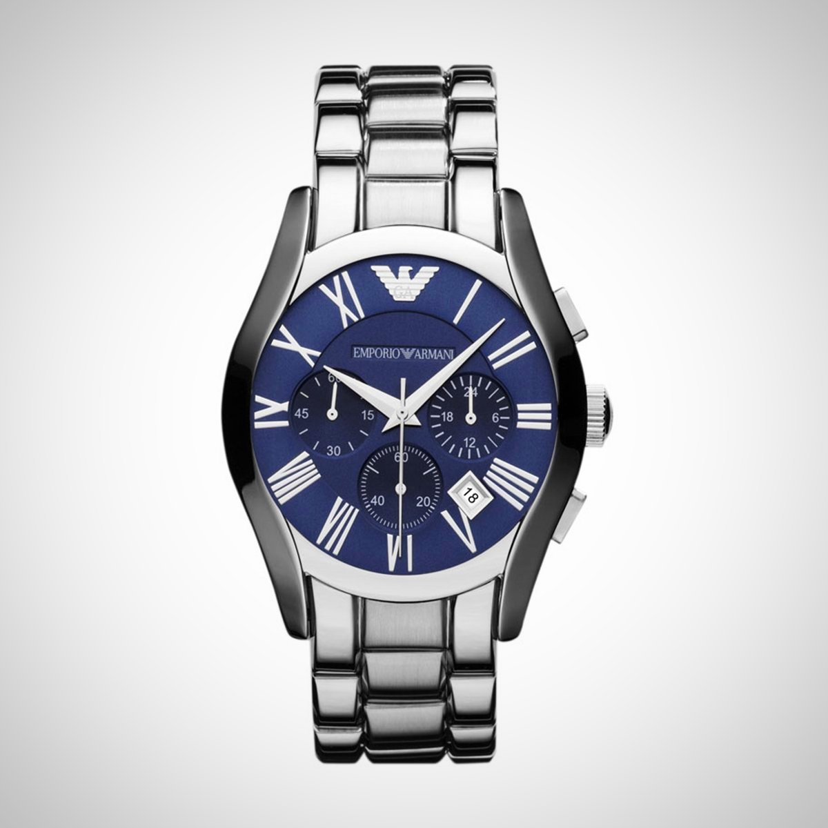 Emporio Armani AR1635 Men's Blue Chronograph Watch